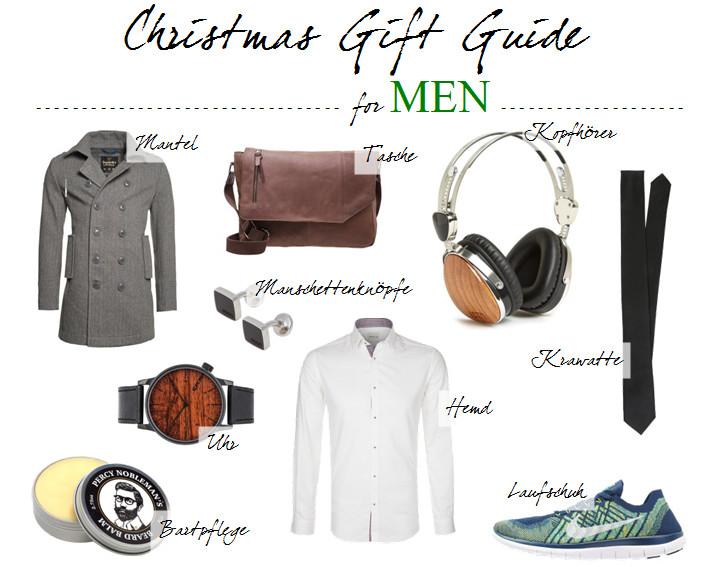Geschenkideen Freund Weihnachten  Geschenkideen für Männer zu Weihnachten JustMyself