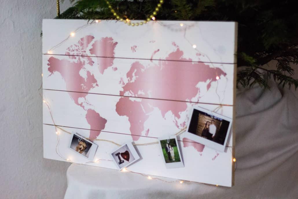 Geschenkideen Freund Weihnachten  Weihnachten Freude schenken mit weltkarten