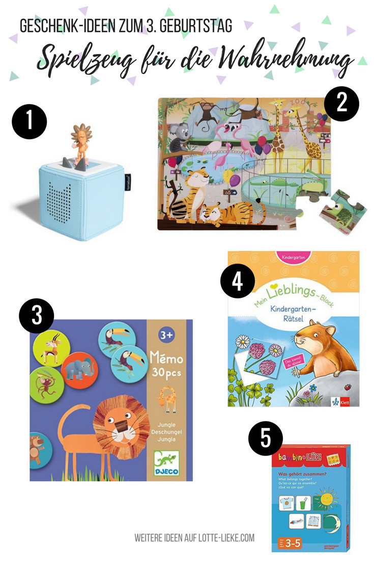 Geschenkideen Für 3 Jährige Mädchen  Geschenk Ideen für 3 Jährige zum Geburtstag oder