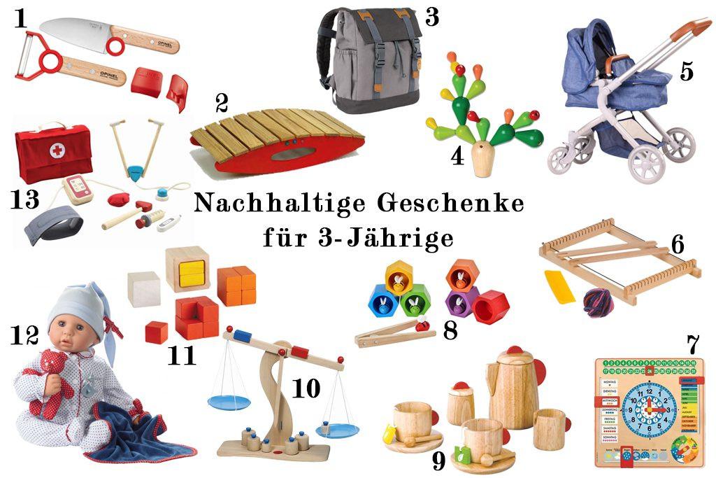 Geschenkideen Für 4 Jährige  Nachhaltige Geschenkideen für Babys Kleinkinder und