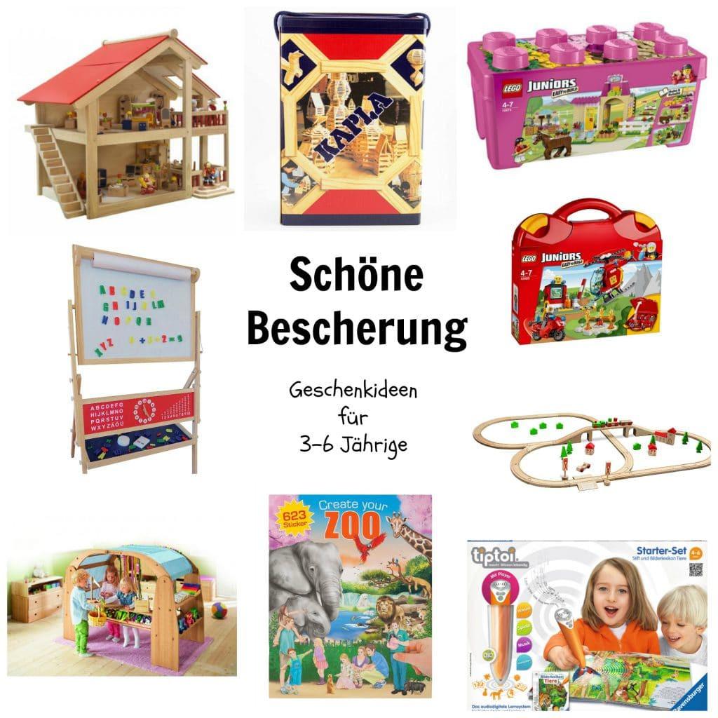 Geschenkideen Für 4 Jährige  Schöne Bescherung Geschenkideen für 3 bis 6 Jährige