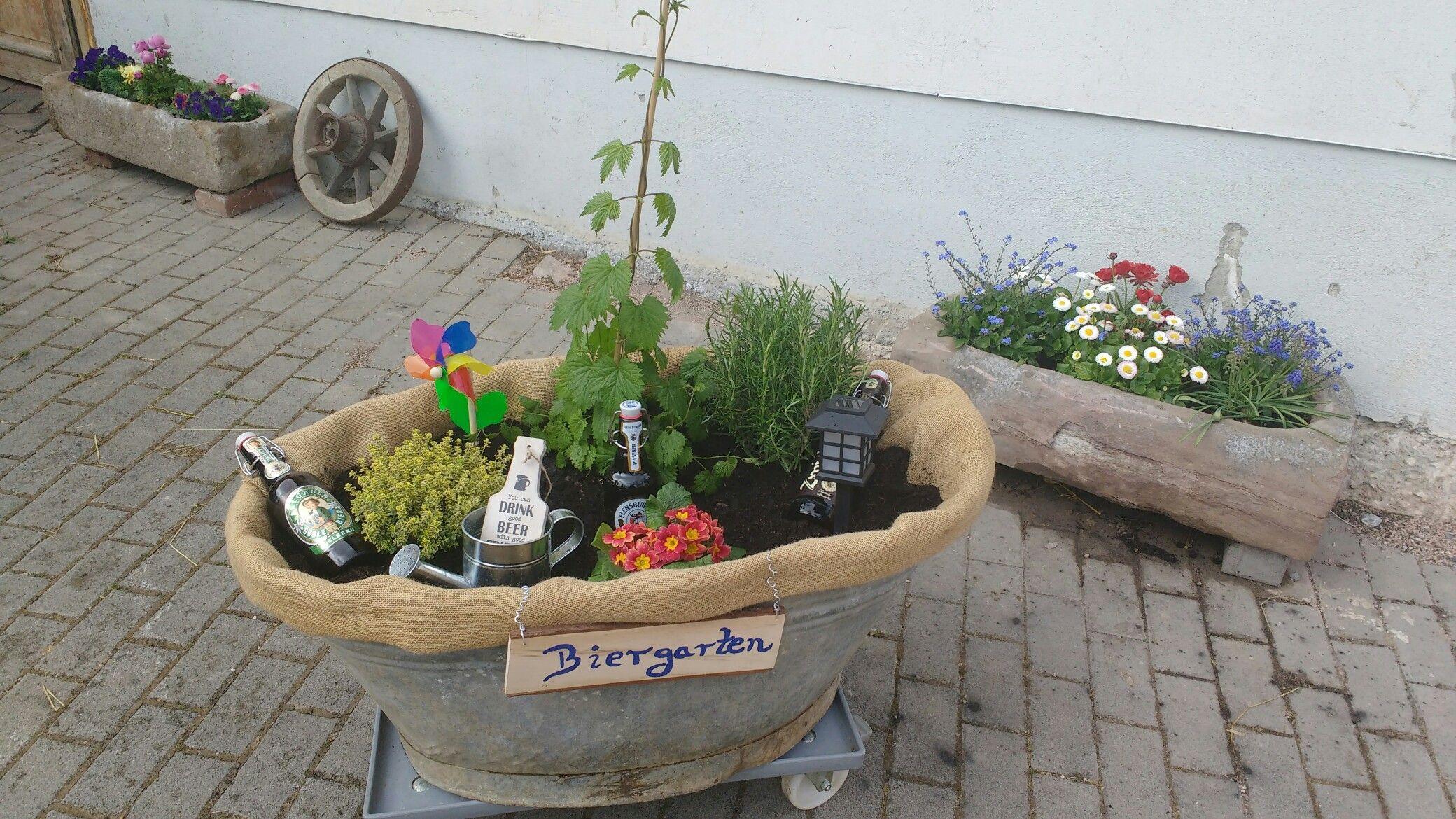Geschenkideen Garten  Biergarten Männer Geschenk Garten