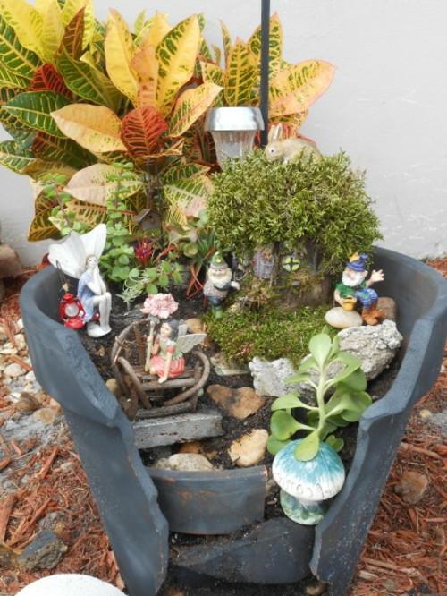 Geschenkideen Garten  Kreativer Minigarten 16 originelle Baselideen aus alten
