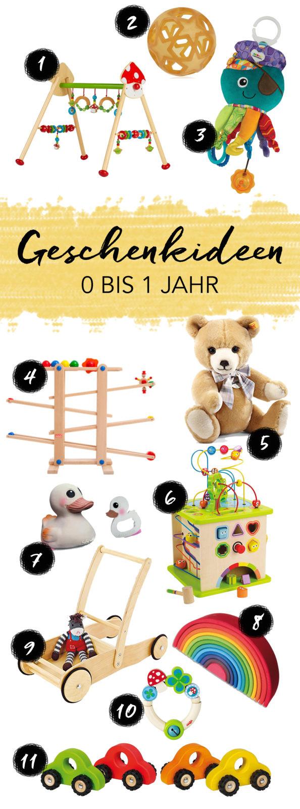Geschenkideen Kinder 10 Jahre  Geschenkideen für Babys und Kinder im Alter von 0 bis 1