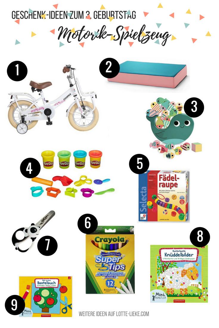 Geschenkideen Kinder 10 Jahre  Geschenk Ideen für 3 Jährige zum Geburtstag oder