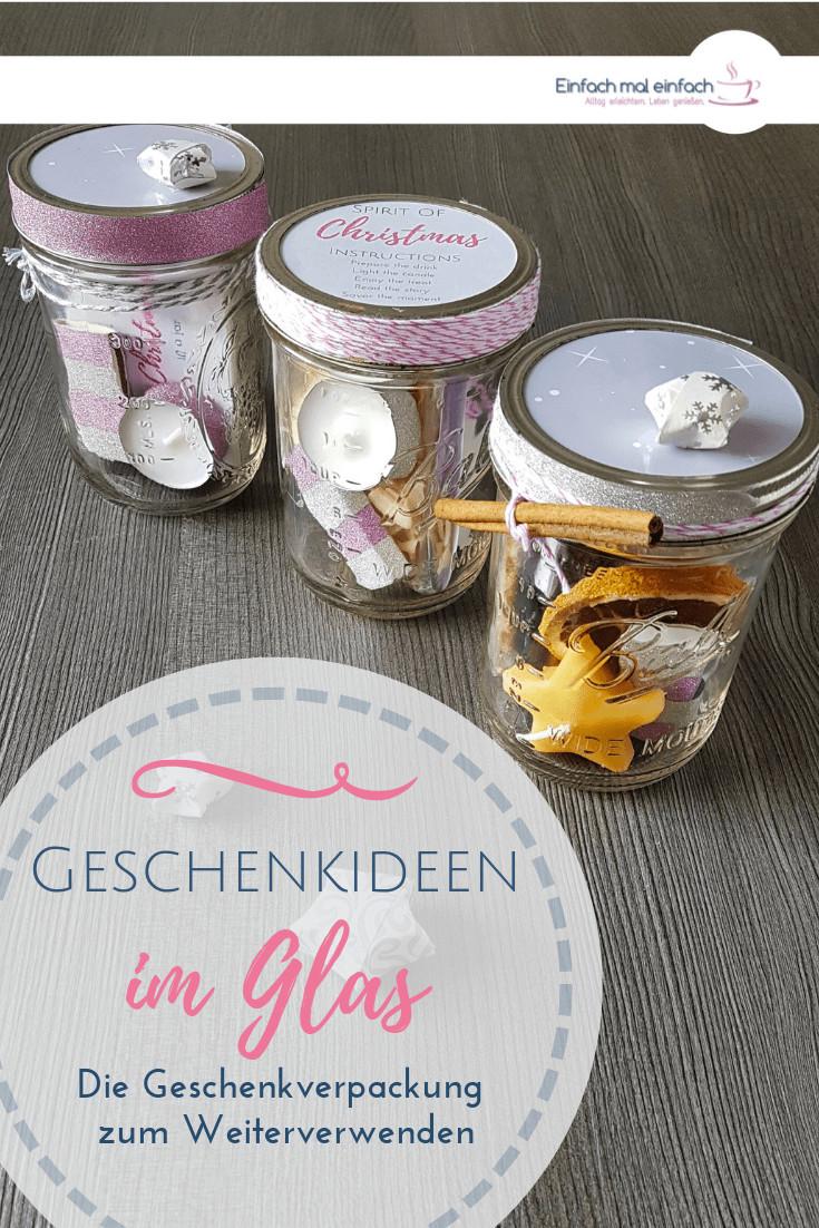 Geschenkideen Schwiegermutter  Geschenkideen im Glas Advent Weihnachten