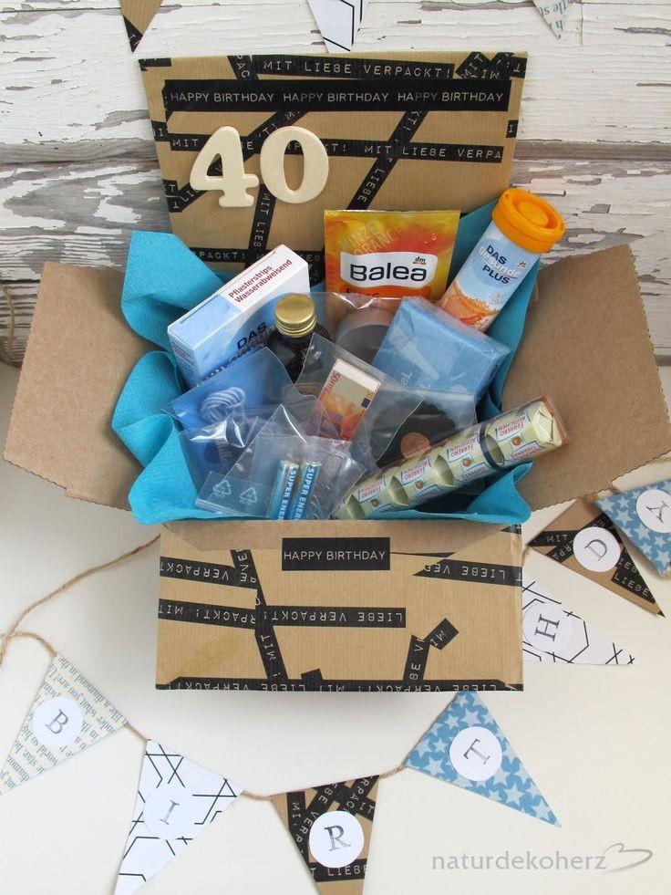 Geschenkideen Zum 40 Geburtstag  Die besten 25 Geschenke zum 40 Geburtstag Ideen auf