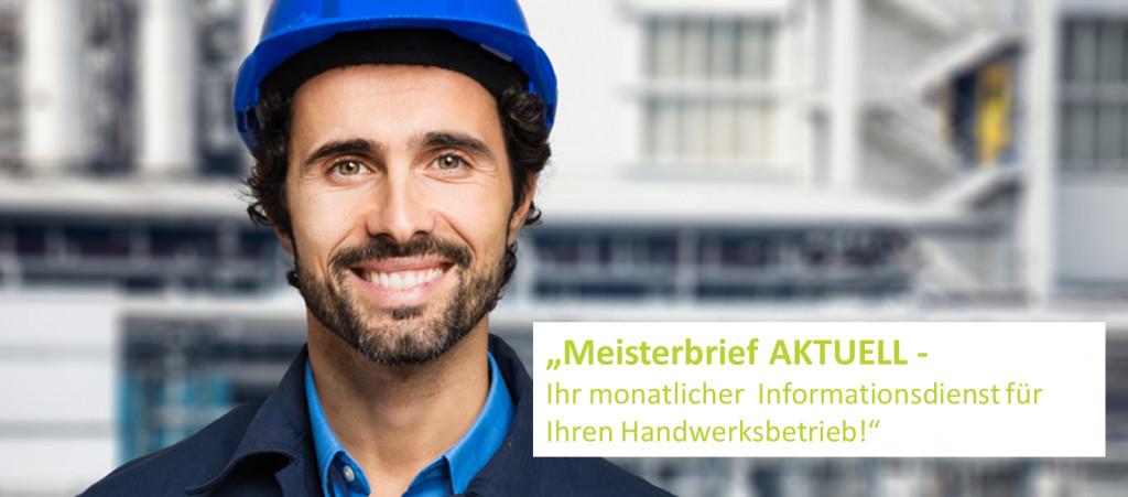Gewährleistung Handwerk  MeisterBRIEF aktuell Deutsches Handwerk Handwerksrecht