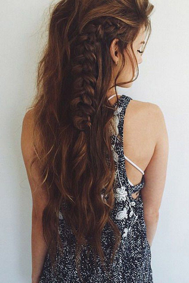 Gezeichnete Frisuren  Gezeichnete Bilder Crazy Frisuren Mädchen Locken Jeanshemd