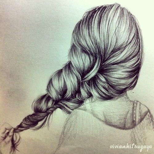 Gezeichnete Frisuren  Die 25 besten Ideen zu Haare zeichnen auf Pinterest