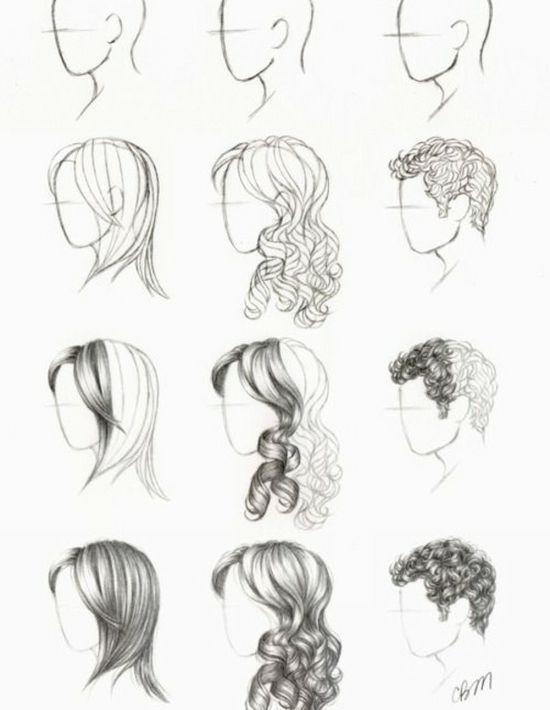 Gezeichnete Frisuren  zeichnen lernen – Wie zeichnet man Füchse Schritt 23 – vol