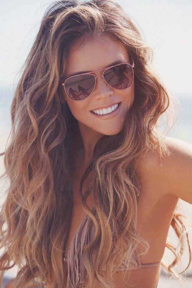 Gofeminin Frisuren  Sommer Sonne Surfer Look Lässige Beach Waves zum