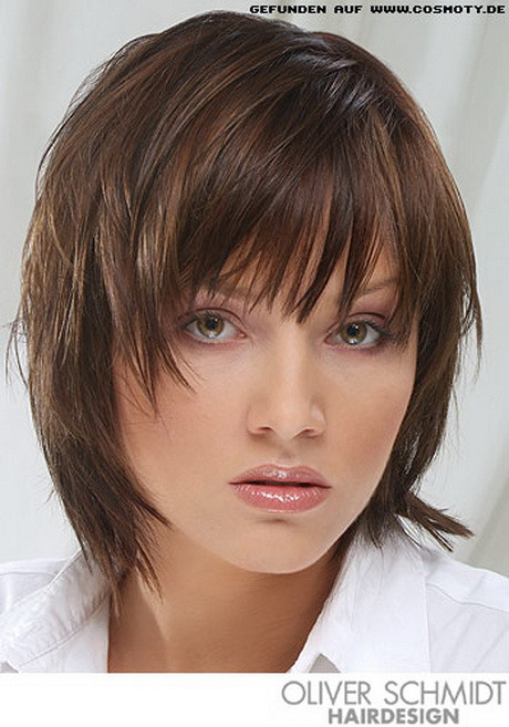 Gofeminin Frisuren  Frisuren mit pony schulterlang