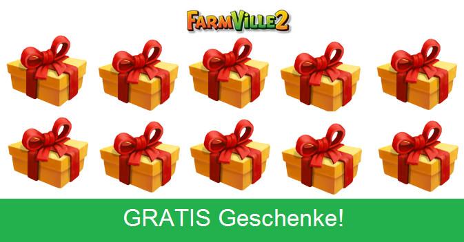 Gratis Geschenke  FarmVille 2 GRATIS Geschenke