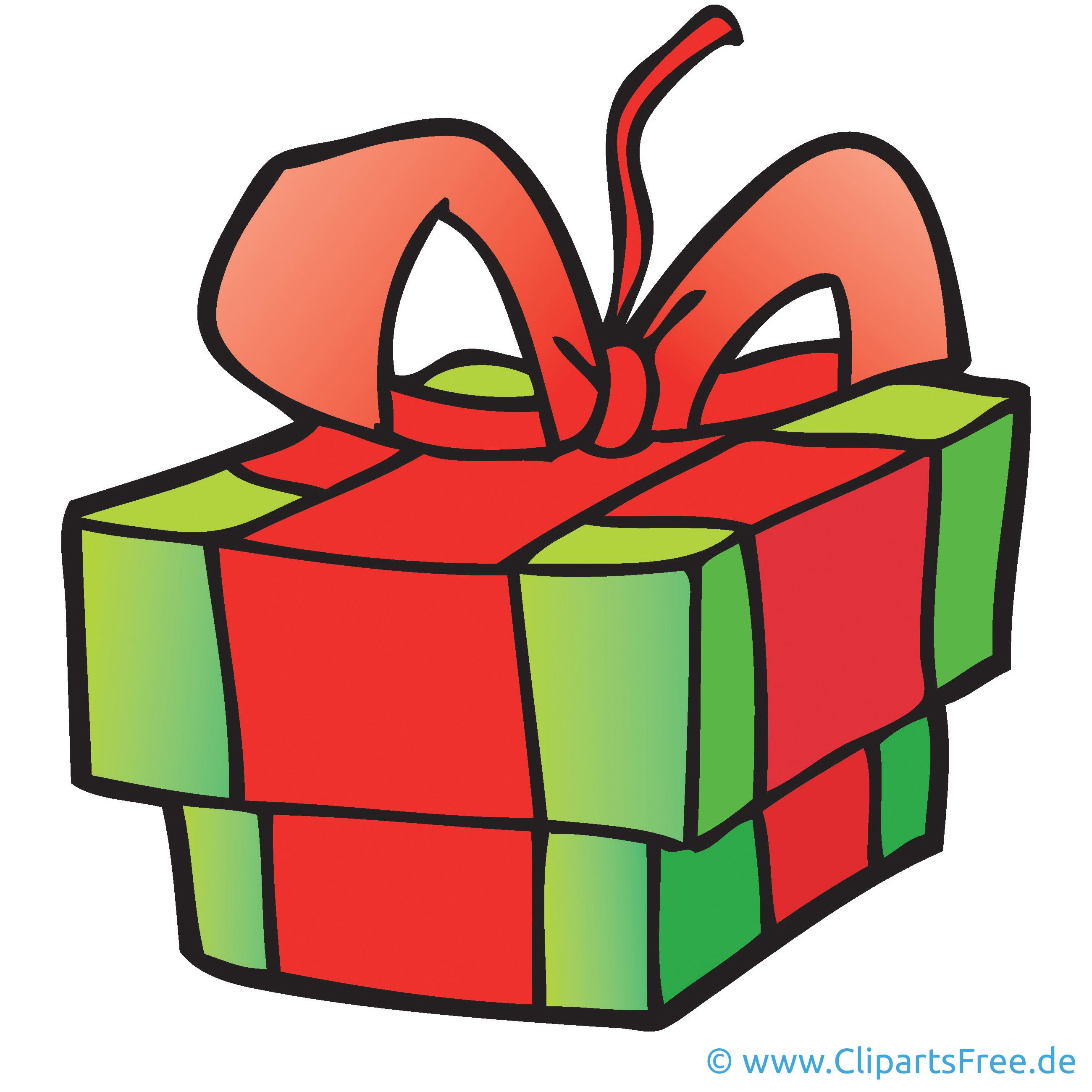Gratis Geschenke  Geschenk Clipart Bild Cartoon Grafik Illustration