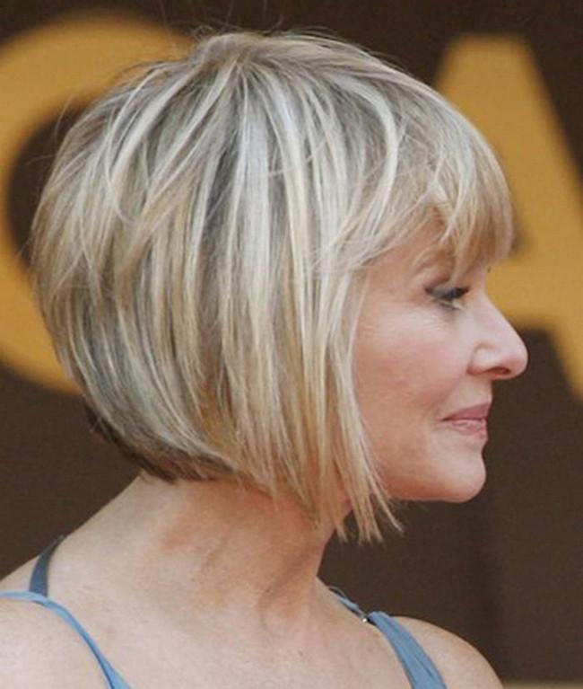 Graue Haare Frisuren Vorschläge  Bob Frisuren Graue Haare Ideen