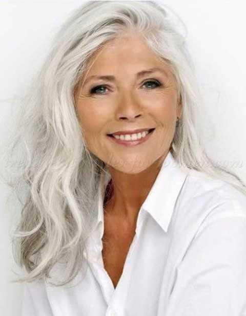 Graue Haare Frisuren Vorschläge  20 Frisuren für Graue Haare Haare Styles