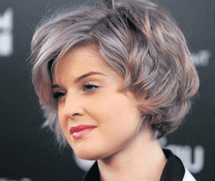Graue Haare Frisuren Vorschläge  Bob frisuren graue haare – Beliebte Frisur Ideen