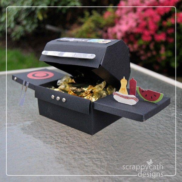 Grill Geschenke  diy bbq grill treat box