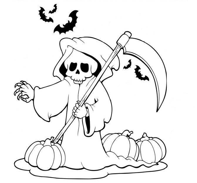 Die 20 Besten Ideen Für Gruselige Halloween Ausmalbilder Zum