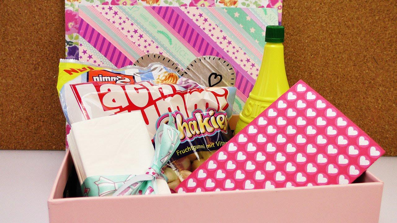 Gute Geburtstagsgeschenke Für Freundin  Trostpaket Liebeskummer Ein gute Laune