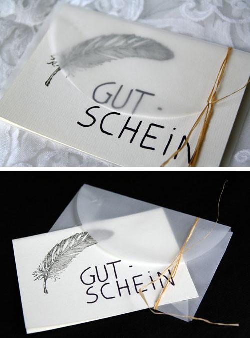 Gutschein Diy  DIY