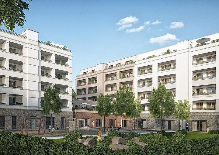 Gwh Frankfurt Wohnung Mieten  fenbach Atrium Senefelder GWH Bauprojekte GmbH