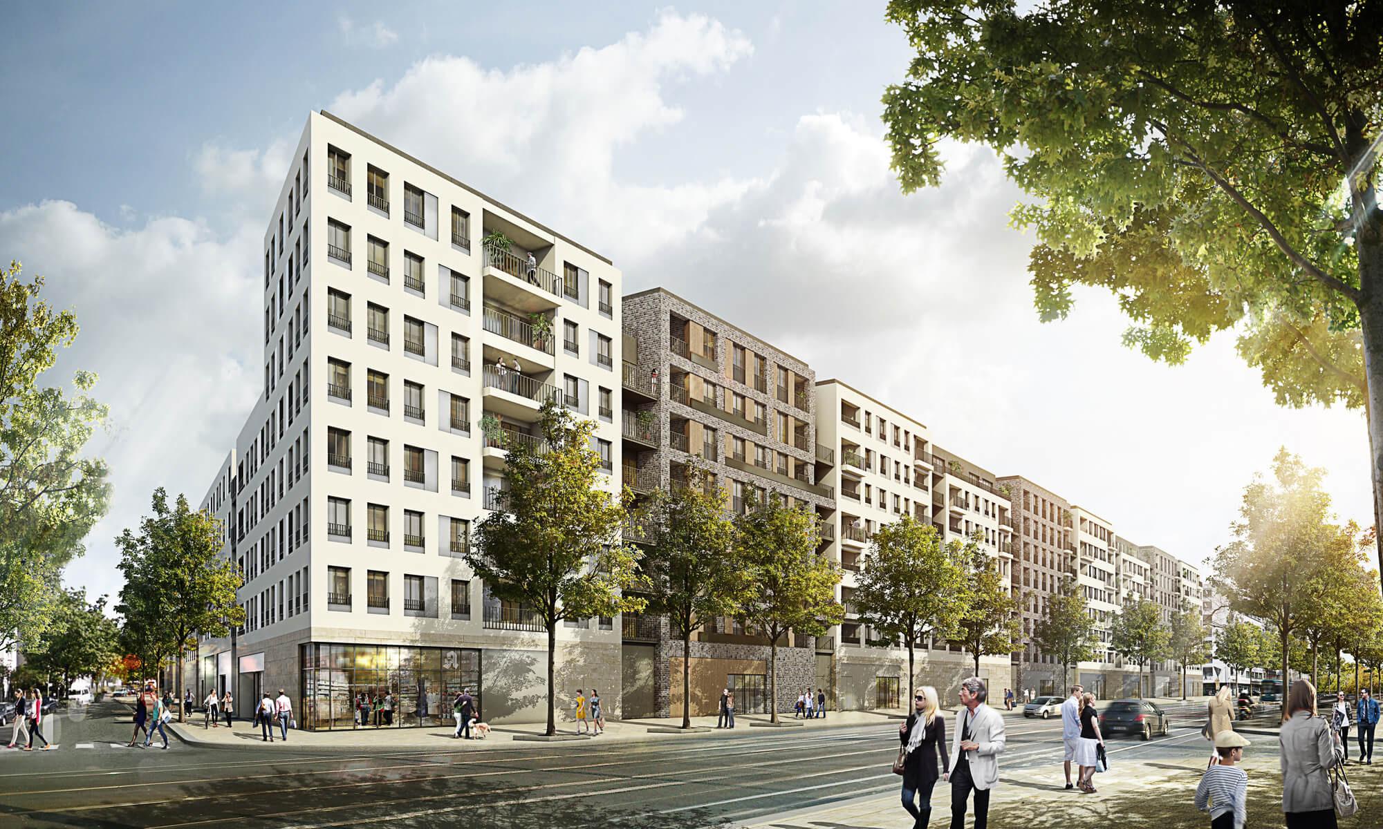 Gwh Frankfurt Wohnung Mieten  Neubau Immobilien Frankfurt am Main Gallus Aktuelle