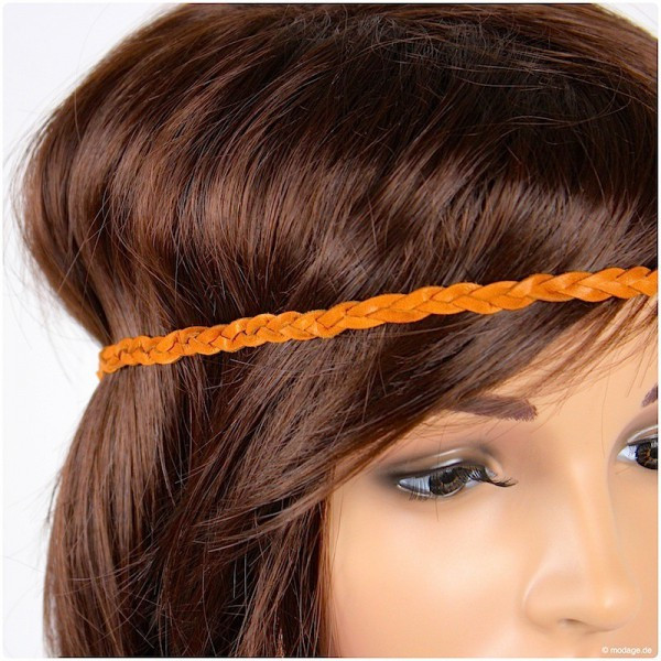 Haarband Diy  DIY Haarband aus geflochtenem Leder HANDMADE Kultur