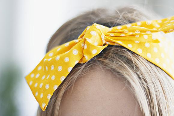 Haarband Diy  DIY haarband zonder naaien