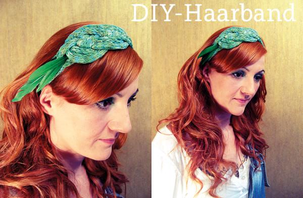 Haarband Diy  DIY Haarband mit der Strickliesel