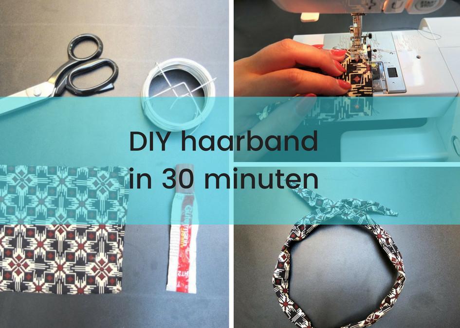Haarband Diy  DIY haarband met ijzerdraad – Per Abuijs
