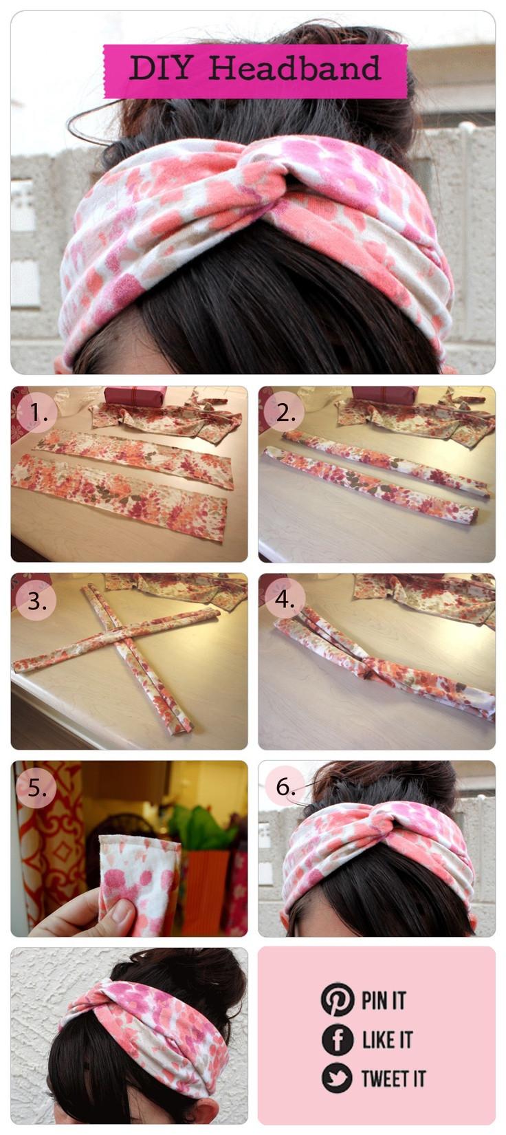 Haarband Diy  DIY headbands