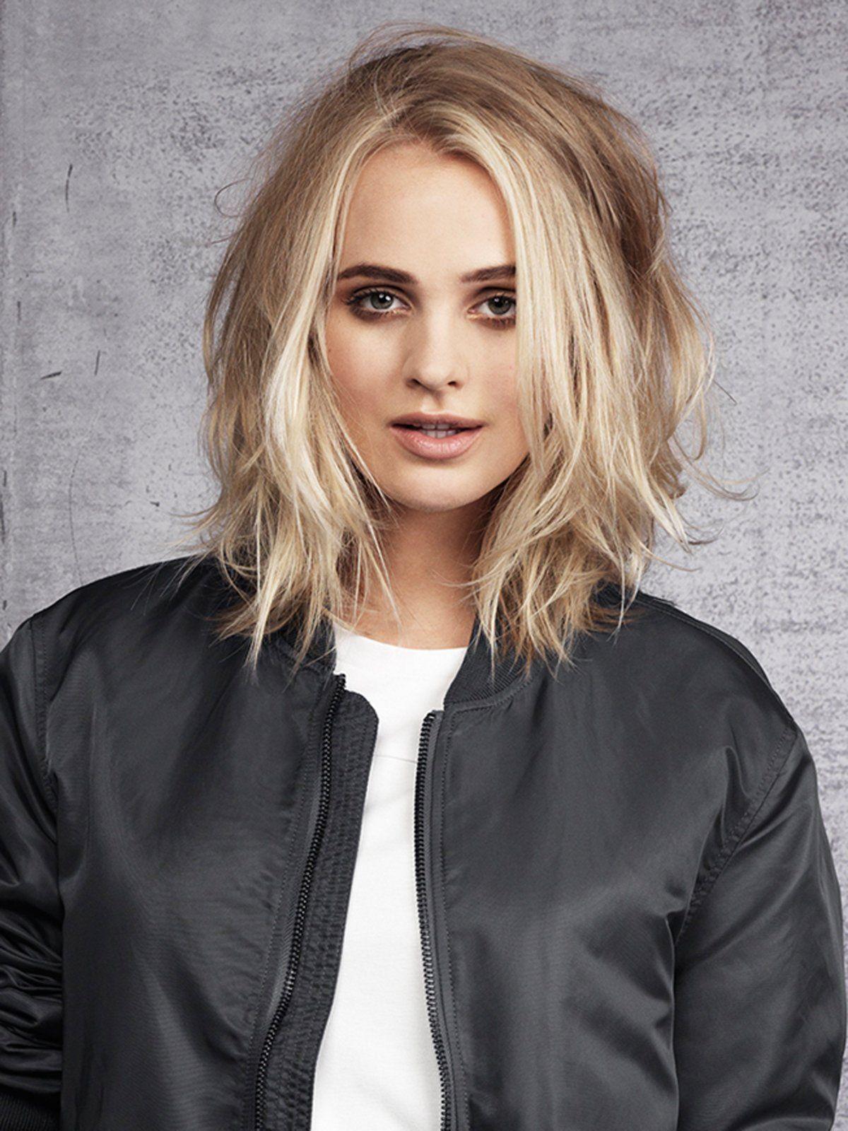 Haarschnitt 2019  Mittellange Frisurentrends 2019 Haare