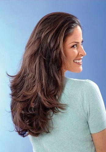 Haarschnitt Langhaar  Langhaar stufenschnitt frisuren