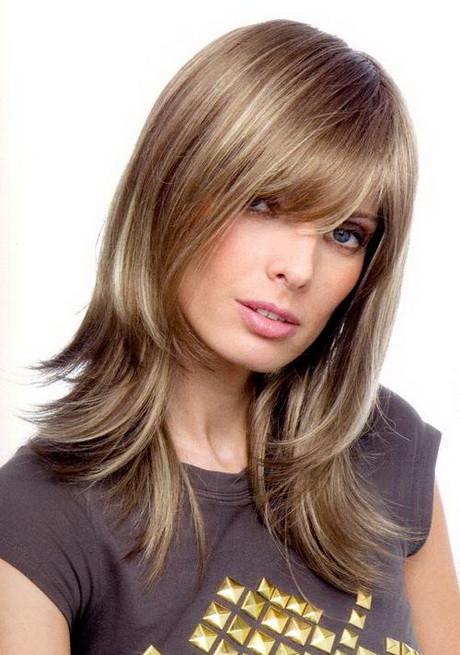 Haarschnitt Langhaar  Haarschnitt fuer schulterlange haare