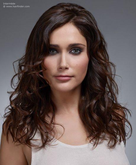 Haarschnitt Langhaar  Haarschnitt naturwelle