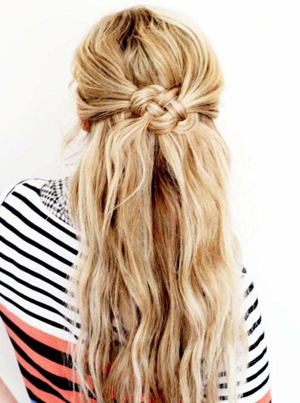 Halboffene Frisuren Festlich  Coole interessante Frisuren für lange Haare Archzine
