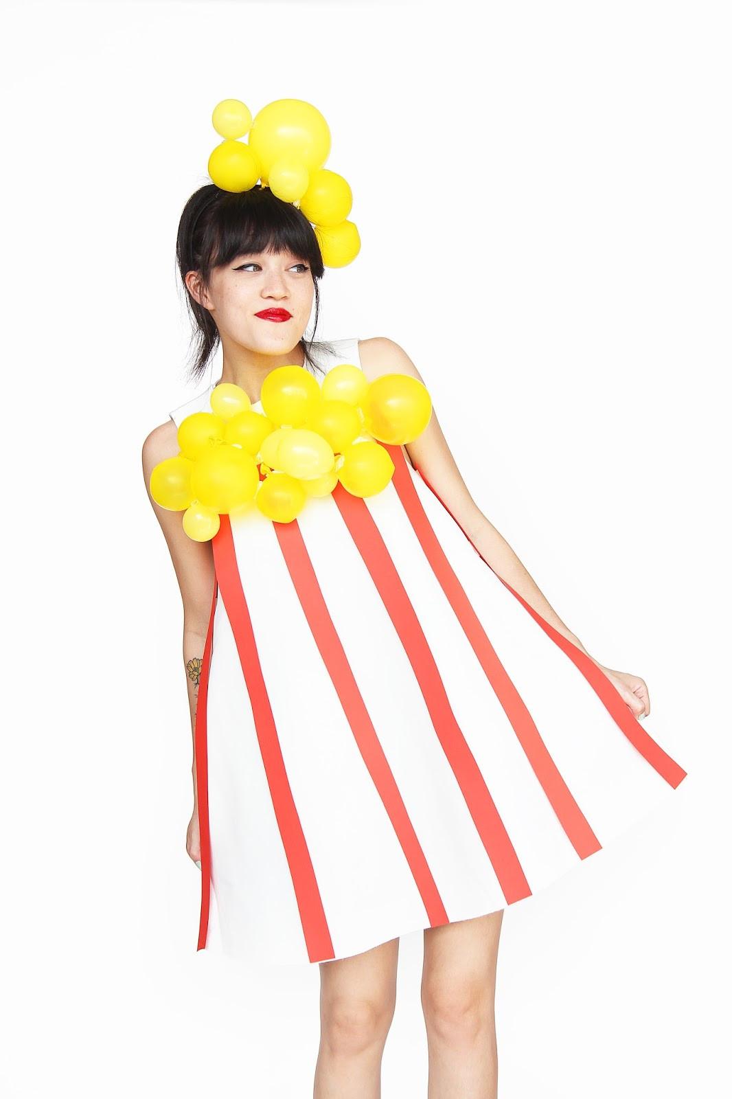 Halloween Diy Kostüm  Aww Sam DIY Popcorn Halloween Costume