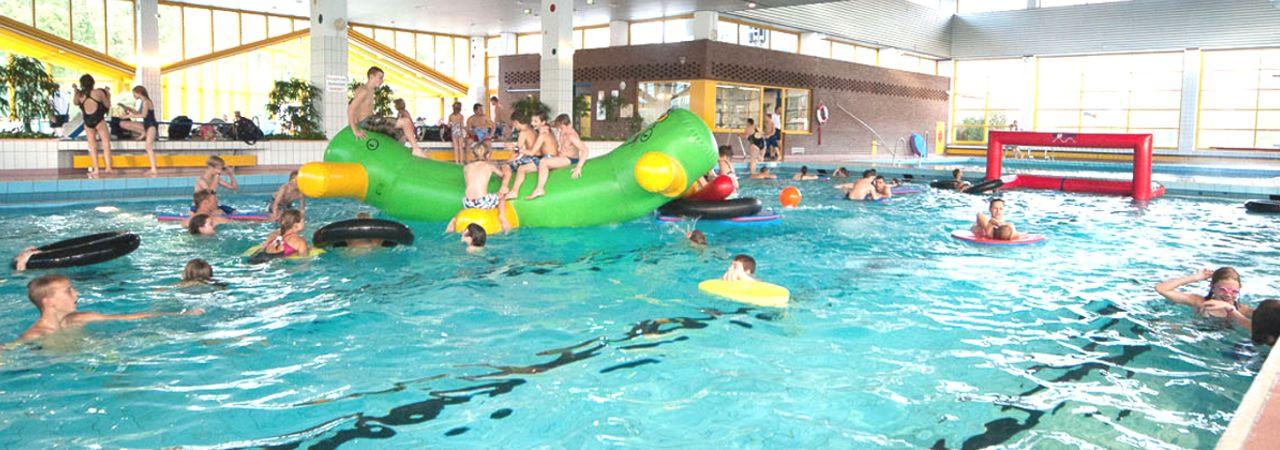 Haltern Am See Schwimmbad  Freizeitbad Aquarell Freizeitbad Aquarell Haltern am See