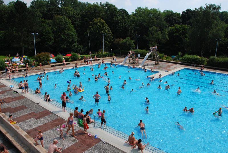 Haltern Am See Schwimmbad  Bilder Freizeitbad Aquarell Haltern am See