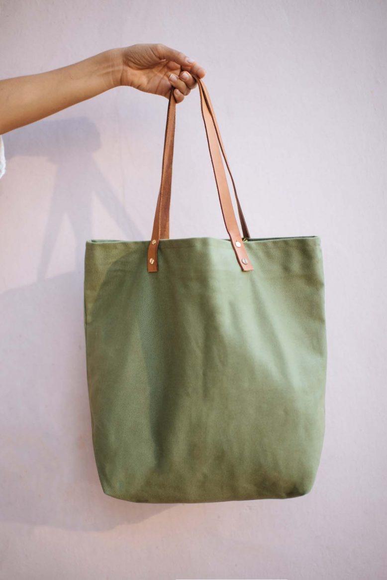 Handbad Diy  DIY Canvas Tote Bag