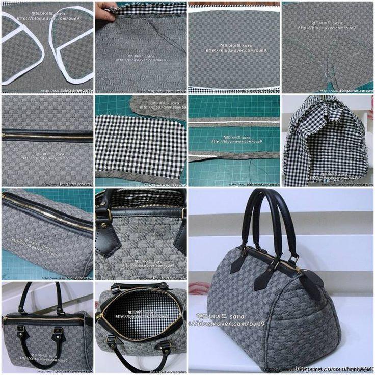 Handbad Diy  How to make Nice Fashionable designer Handbags step by