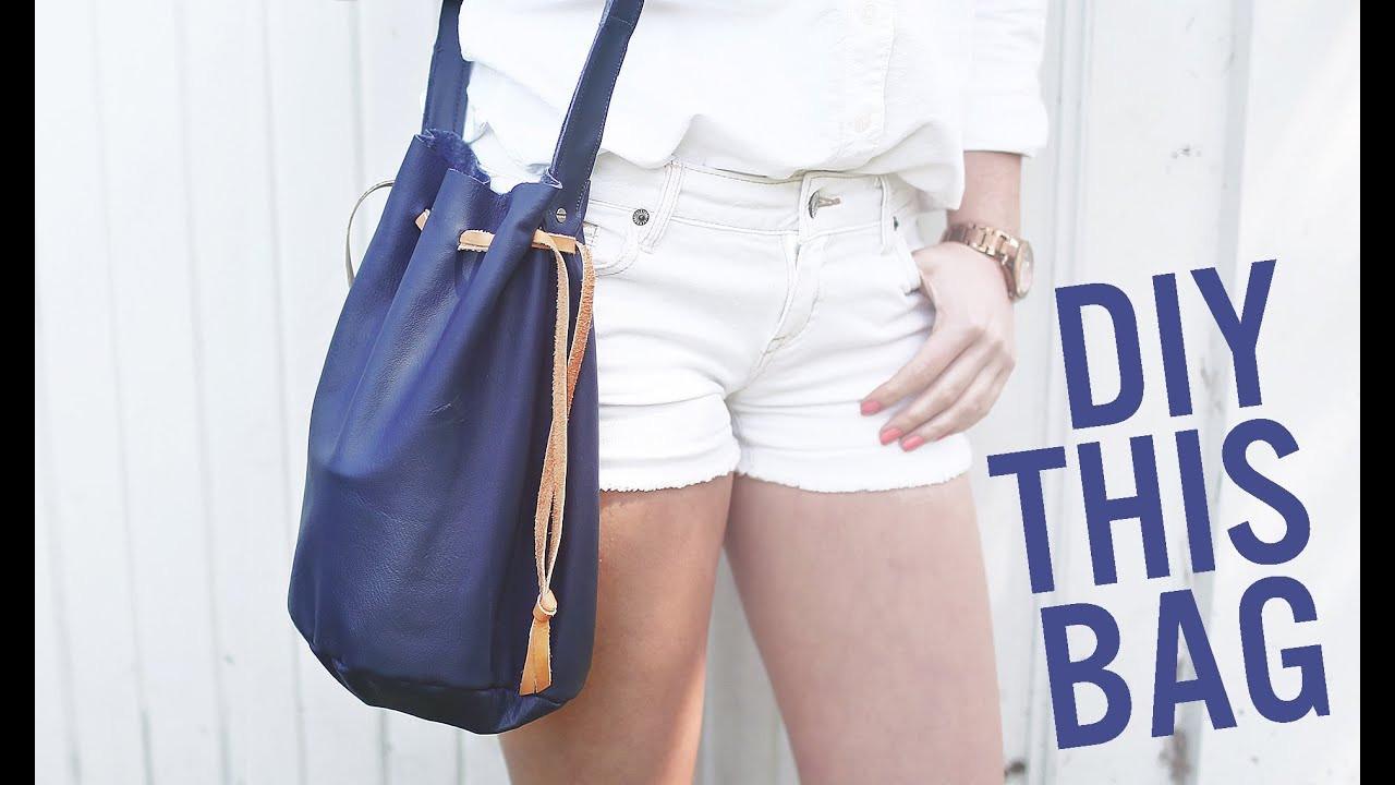 Handbad Diy  DIY BUCKET BAG PURSE FOR SUMMER