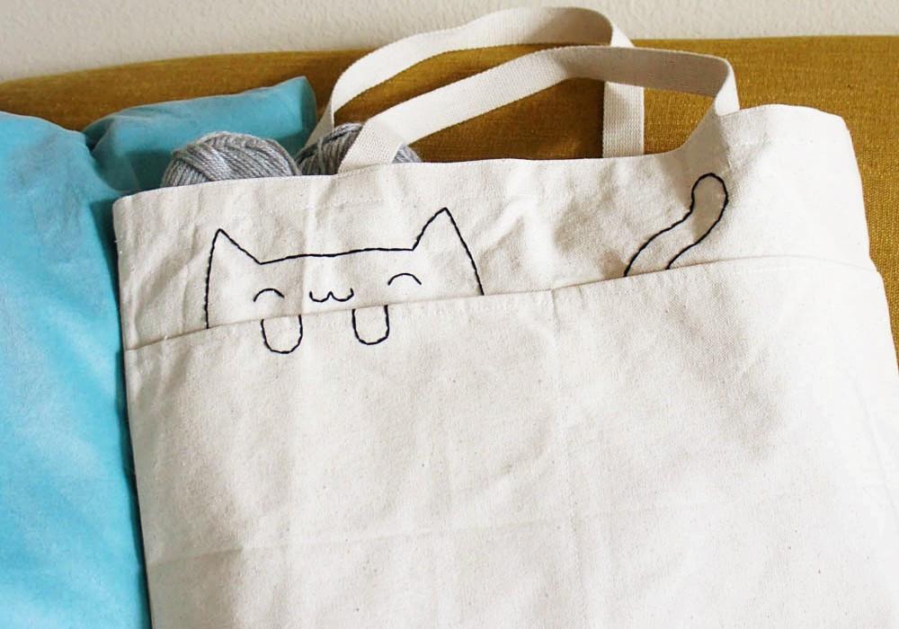 Handbad Diy  30 DIY Tote Bags To Create At Home
