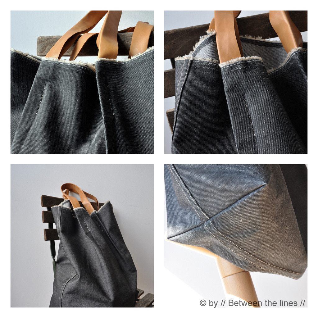 Handbad Diy  Beyond Jeans… 21 Awesome & Unexpected Denim DIY Projects