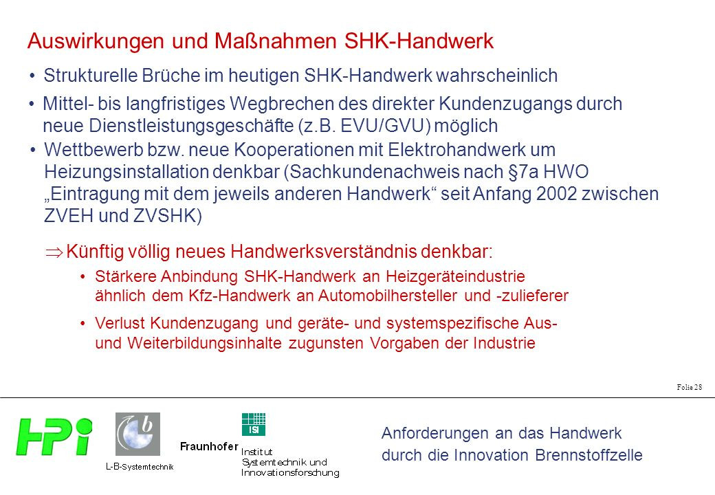 Handwerk Definition  Anforderungen an das Handwerk durch Innovation