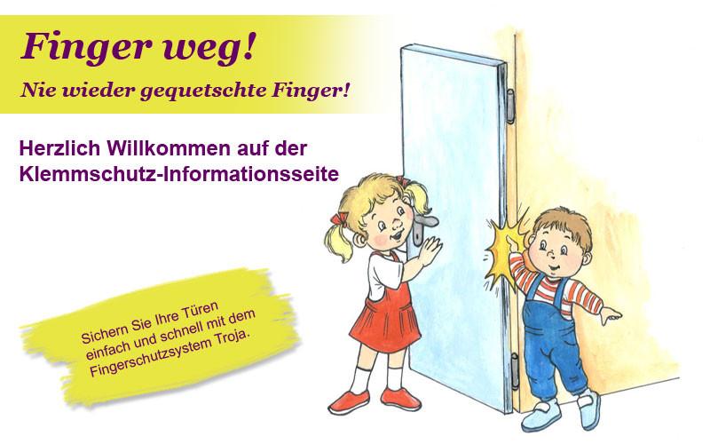 Handwerk Handels Gmbh  Fingerklemmschutz der Firma Handwerk Handels GmbH