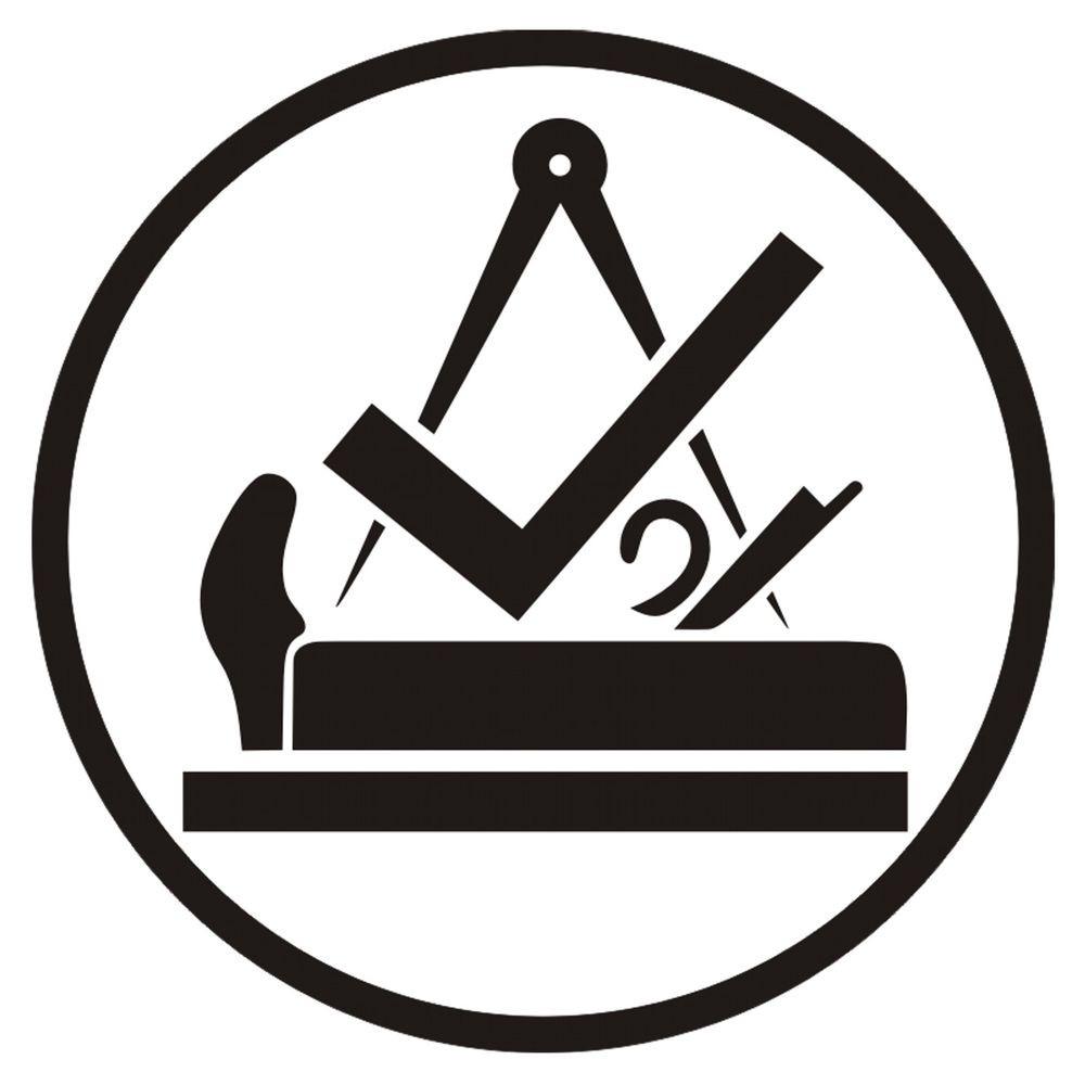 Handwerk Logo  Aufkleber Schreiner Handwerk Schreinerei Logo