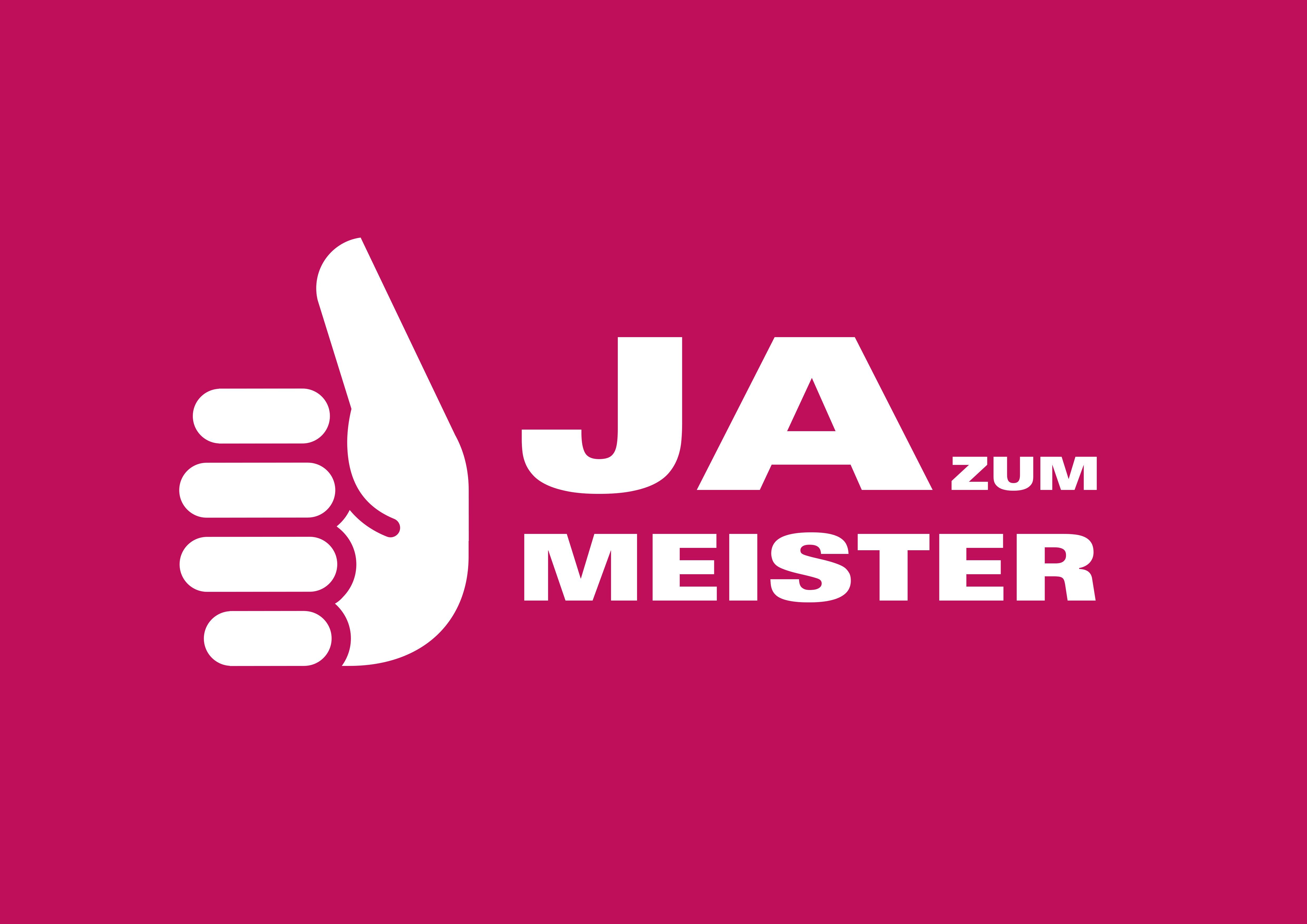 Handwerk Logo  Ja zum Meister Mappe